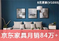 京东家具类目访客量从19872到840491