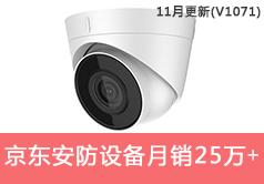 京东安防设备类目销售额从56285到256232